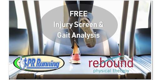 Free Injury Screening by Rebound PT
