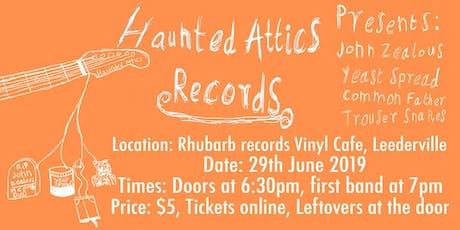 Haunted Attics Records - Debut Showcase tickets