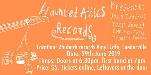 Haunted Attics Records - Debut Showcase