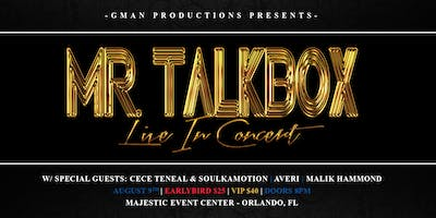 Mr. Talkbox LIVE in Concert