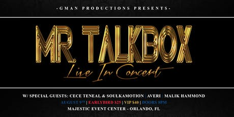 Mr. Talkbox LIVE in Concert tickets