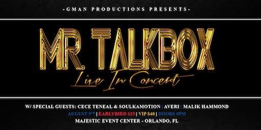 Mr. Talkbox LIVE in Concert