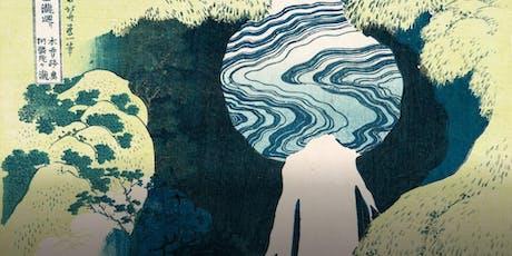 Saturday Social Painting: Hokusai's Waterfall, Aug 24 tickets