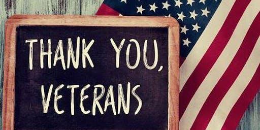 Veterans social/dinner event for the whole family!!