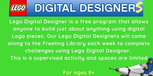 Term 2 - Lego Digital Designers @ The Freeling Library