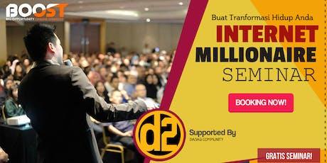 "Seminar Bisnis Berbasis Internet Gratis ""BOOST"" tickets"