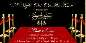 Impressions Events presents Adult Prom: A Night Out on...