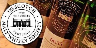 Scotch Malt Whisky Society TASTINGS!