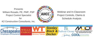 In-Classroom and Live Webinar - Best Practices for Project Controls, Claims & Schedule Analysis