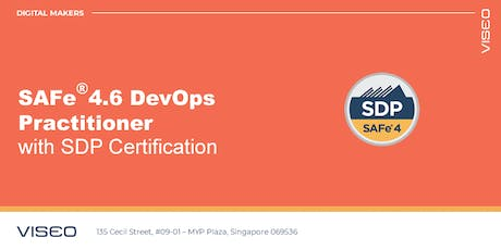 Scaled Agile Framework (SAFe® 4.6) DevOps Practitioner with SDP Certification - Singapore tickets