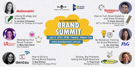 1st Mansmith Brand Summit tickets