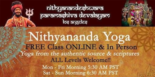 Nithyananda Yoga - Free Yoga - 108 asanas