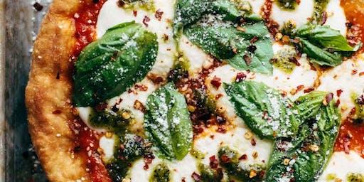 Pizzas y focaccias (Taller + Cena)