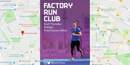 After Work Run @Factory Berlin Mitte