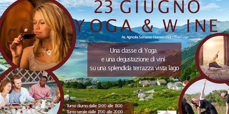 Yoga & Wine biglietti