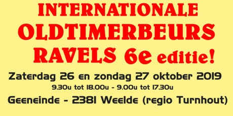 Internationale Oldtimerbeurs Ravels tickets