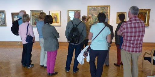 Descriptive tour for Visually Impaired Visitors of 'Reflections on Classical Edinburgh'.