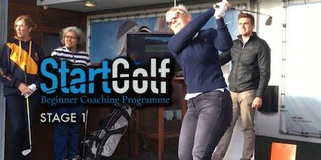 StartGolf - Stage 1 - Beginner Golf Coaching - Jun 18th tickets
