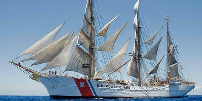 Visit the USCGC EAGLE with us in Kiel