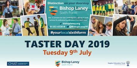 Bishop Laney Taster Day 2019 tickets