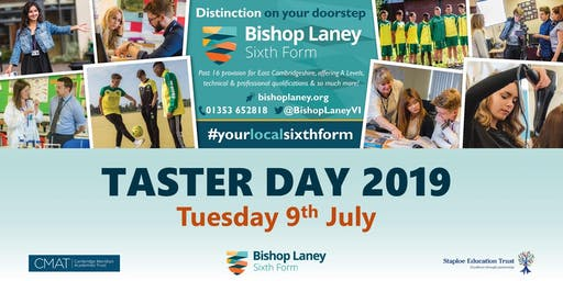 Bishop Laney Taster Day 2019
