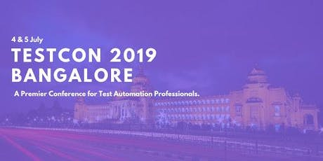 TESTCON 2019 Bangalore tickets