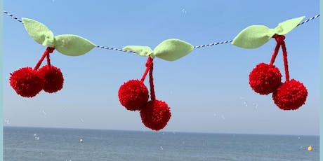 Make Cherry Pom Pom Garland with Little Dot Loves at Urban Makers Market tickets