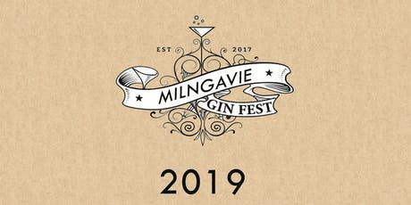 Milngavie Gin Festival 2019 tickets