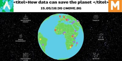 How data can save the planet?!