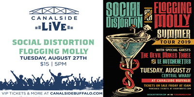 Canalside Live Series: Social Distortion & Flogging Molly: Summer Tour 2019