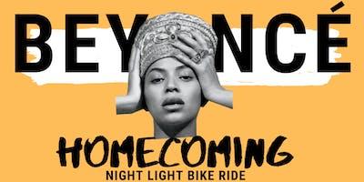 Beyonce Homecoming | Night Light Bike Ride