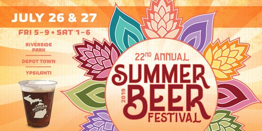MI Brewers Guild 22nd Annual Summer Beer Festival