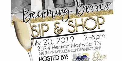 Becoming Bosses Sip and Shop