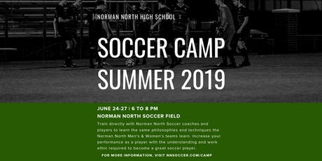 Norman North Soccer Summer Camp 2019 tickets