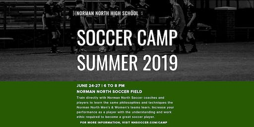 Norman North Soccer Summer Camp 2019