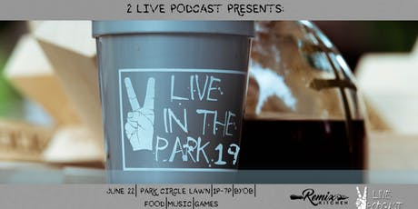 2 Live In The Park '19 tickets