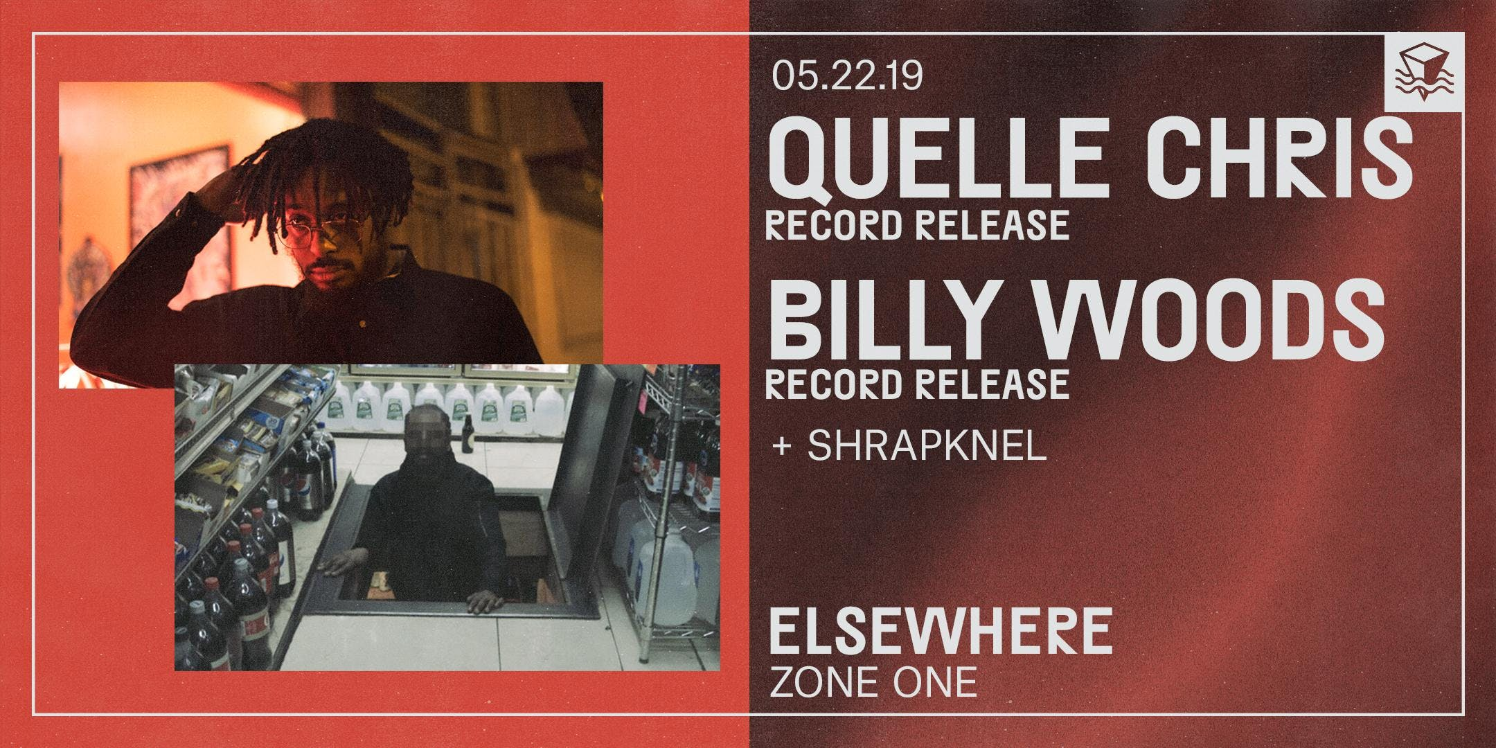 Quelle Chris + Billy Woods (Record Release!)