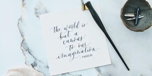 Introduction to Brush Calligraphy with Lillian Liming