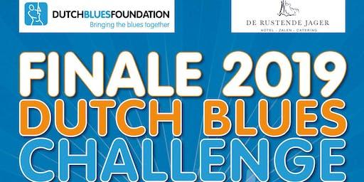 Finale Dutch Blues Challenge 2019 en Dutch Blues Awards
