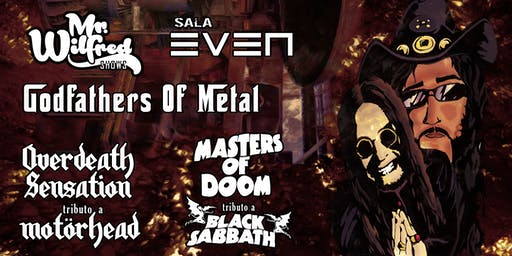 BLACK SABBATH + MOTÖRHEAD Tribute: Godfathers Of Metal (Sala EVEN, Sevilla)