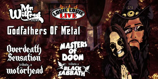 BLACK SABBATH + MOTÖRHEAD Tribute: GodfathersOfMetal (Louie Louie Estepona)