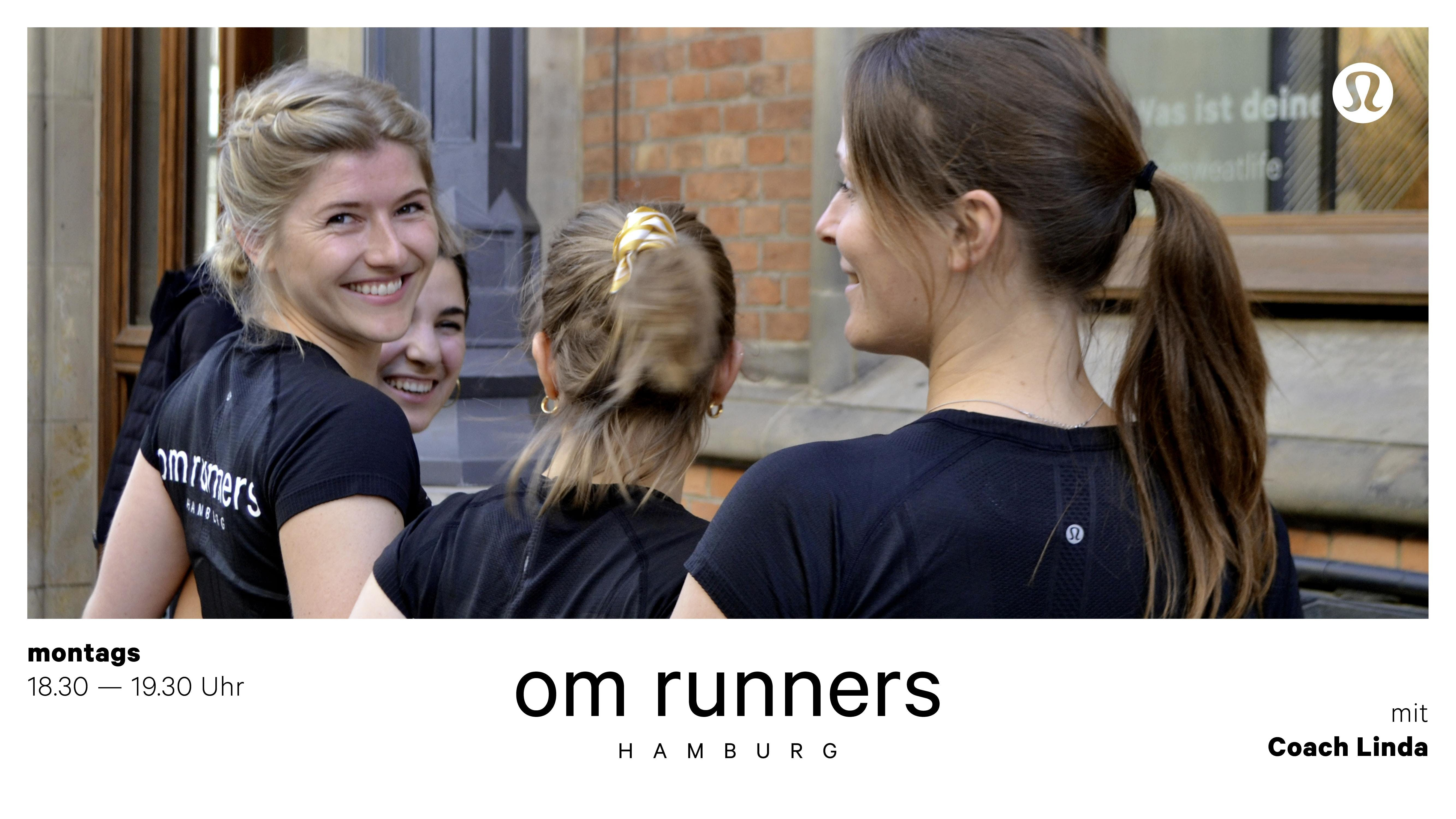 Om runners mit Linda