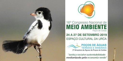 16º Congresso Nacional de Meio Ambiente de Poços de Caldas