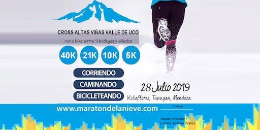 Cross Altas Viñas Valle de Uco - 7ª edicion - Maraton de la Nieve