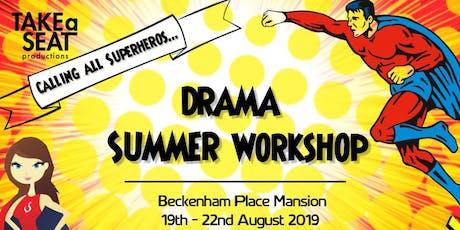 Superhero Drama Summer Workshop tickets