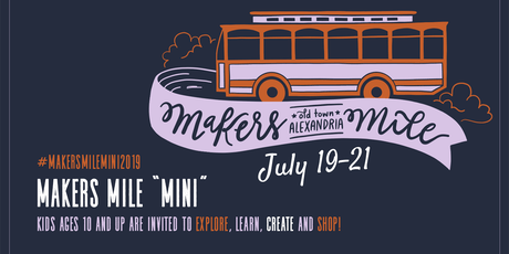 Explore, Create, and Shop During Old Town Alexandria's Makers Mile: Mini Edition tickets
