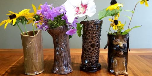 Pints and Pottery: Little Buddy Vases 8/4