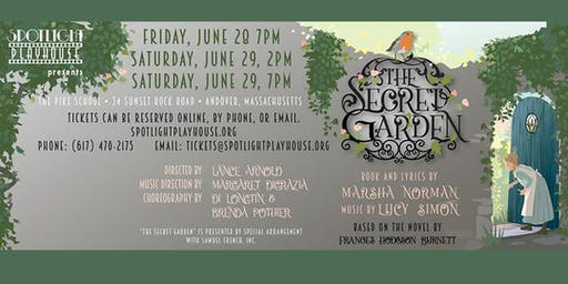 The Secret Garden presented by Spotlight Playhouse