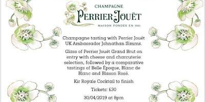 Perrier- Jouet Champagne Tasting