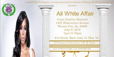Lambda Mu Nu All White Affair